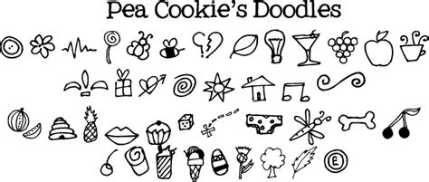 doodle not free pea cookie s doodles