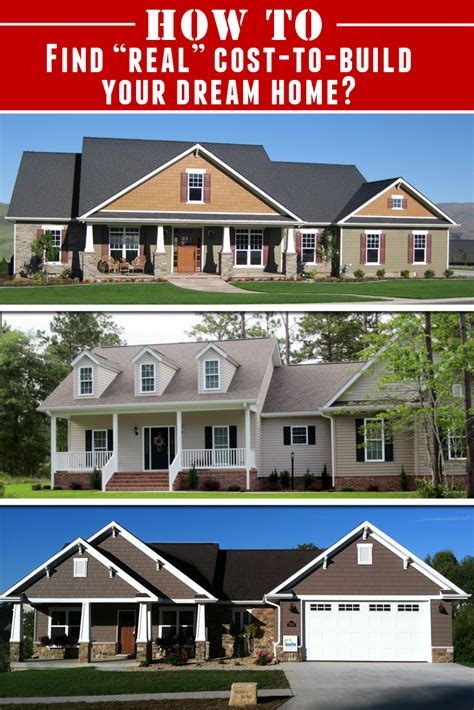 cost to build a home cost to build your own home always wanted to build your
