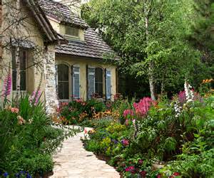 in a cottage garden carmel s cottage gardens once upon a time tales from
