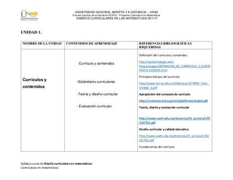 Diseño Curricular Definicion Pdf Sylllabus Disenos Curriculares En Matematicas Pdf
