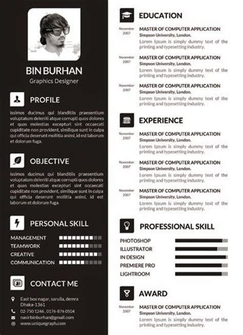Plantilla De Curriculum Vitae Creativo 25 Best Ideas About Plantillas Para Curriculum Vitae On Plantillas Para Cv