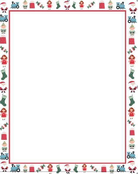 Christmas Letter Borders Sle Letter Template Letter Template Border
