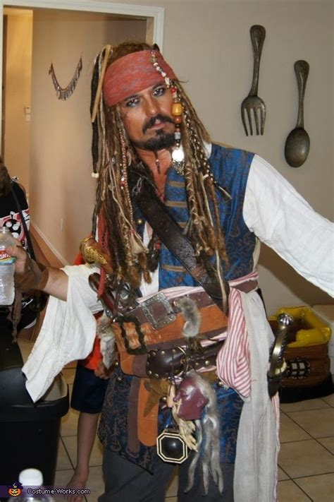 how to make a jack sparrow costume legendary costumes ideas more captain jack sparrow halloween costume halloween