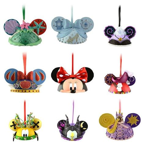 who wouldn t a disney tree mickey ears ornaments are our favorites anything