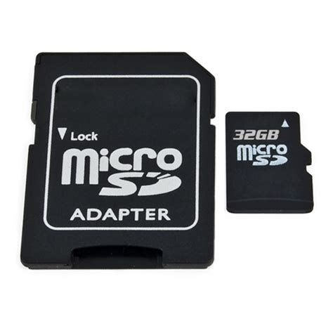 Adaptor Sd Card 32gb micro sd card with sd card adapter 32gbmicrosd