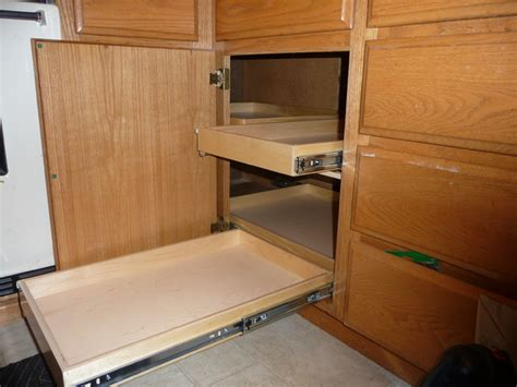 Pullouts For Kitchen Cabinets by Blind Corner Solutions Kitchen Drawer Organizers