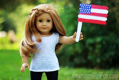 craft usa doll doll craft how to make an american flag americangirlfan