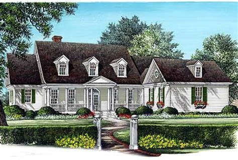 traditional cape cod house plans spacious cape cod home plan