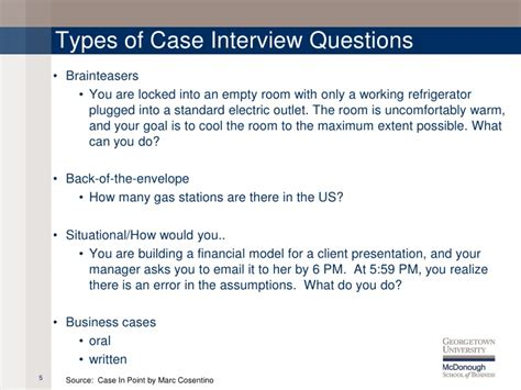 case interview case interview overview
