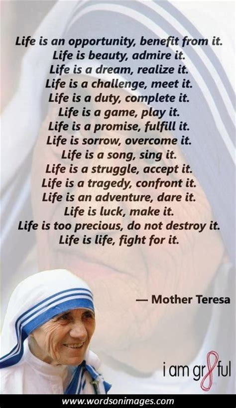 mother teresa biography in french mother teresa quotes in spanish quotesgram