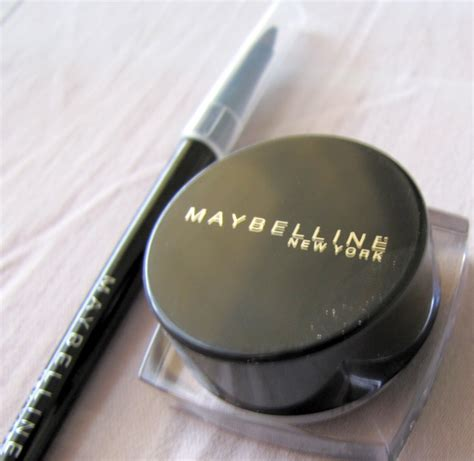 Maybelline Gel new maybelline gel eyeliner 36 hours wear review and