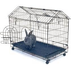Cages For Rabbits Kennel Aire Bunny House Rabbit Cage Walmart Com