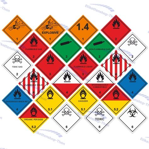 Aufkleber Drucken Lassen 100 Stück by Gefahrgut Aufkleber Etiketten 100 X 100 Mm