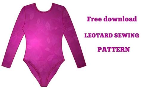 pattern free leotard rhythmic gymnastics leotards leotard sewing pattern
