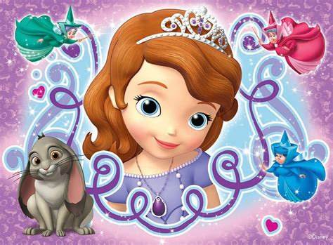 sofa the first ravensburger sofia the first 4 jigsaw puzzles in a box