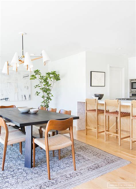Mid Century Dining Room Chairs a minimalist mid century home tour
