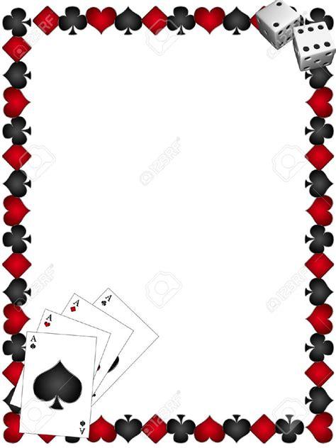 Borders Gift Card - poker border clip art 32