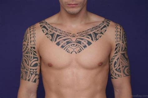 tribal collar tattoo 27 cool hawaiian neck tattoos