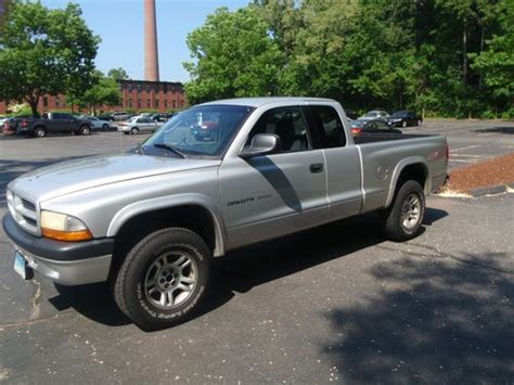dodge dakota 2 door buy used 2002 dodge dakota sport extended cab 2