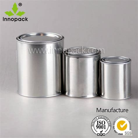 Teko Mini Polos Coating different sizes of tin paint cans with lid for sale buy tin paint cans different sizes of tin