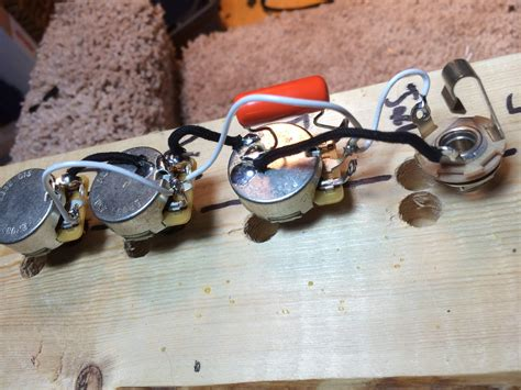 for sale jazz bass and precision bass wiring harnesses