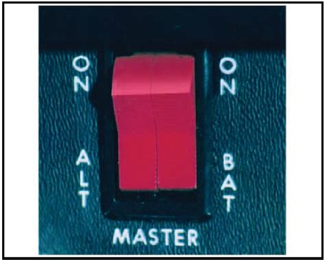 The Master Switch auxiliary aircraft systems