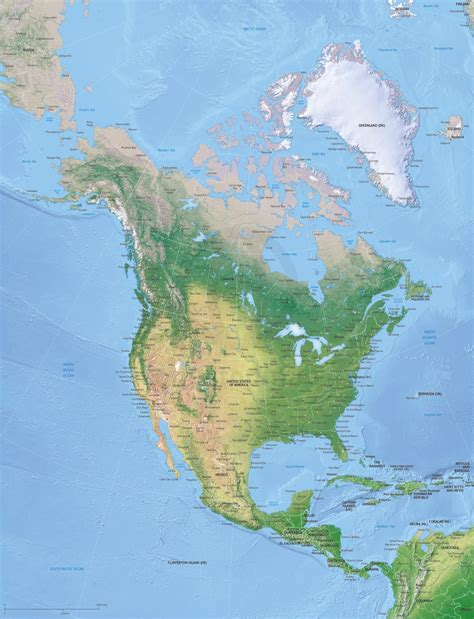 america continent map vector map america continent xl relief one stop map
