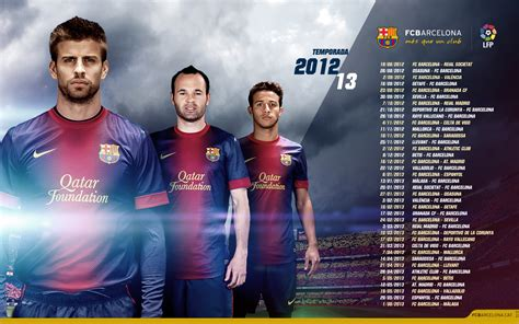 Calendã I Liga Wallpapers Specials Fc Barcelona