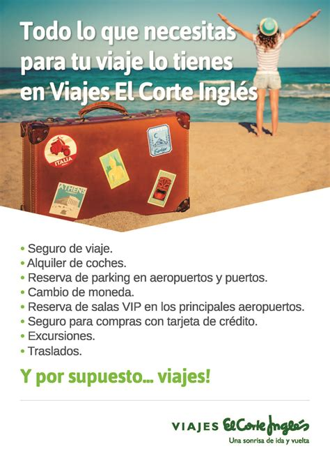 ofertas de viajes en el corte ingles viajes el corte ingl 233 s centro comercial itaroa