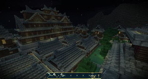 new to this forum and a japanese style kitchenknife japanese style castle town screenshots show your