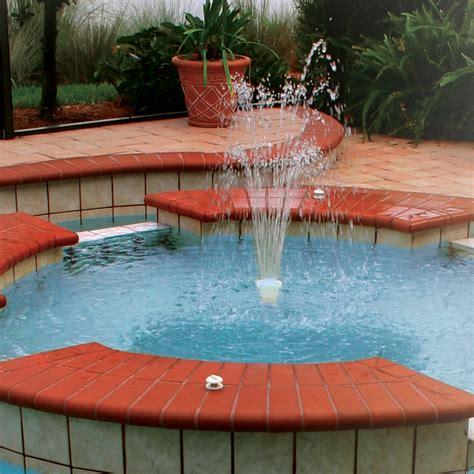 inground pool fountains gunite pool fountains cmp