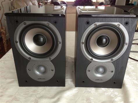 polk audio tsi100 book shelf speakers mint condition for