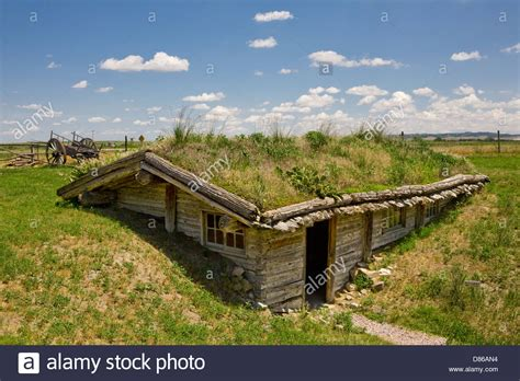 sod house sod house at museum of the fur trade chadron nebraska usa stock photo royalty free