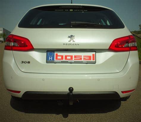 peugeot 308 estate towbar bosal detachable 2014 onwards