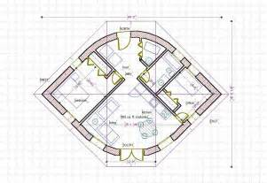 Straw Bale Floor Plans Straw Bale House Plan 670 Sq Ft Eye Shape