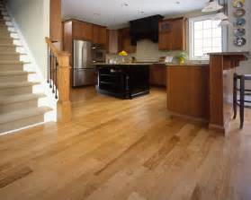 Kitchens With Wood Floors Some Rustic Modern Kitchen Floor Ideas Furniture Home Design Ideas