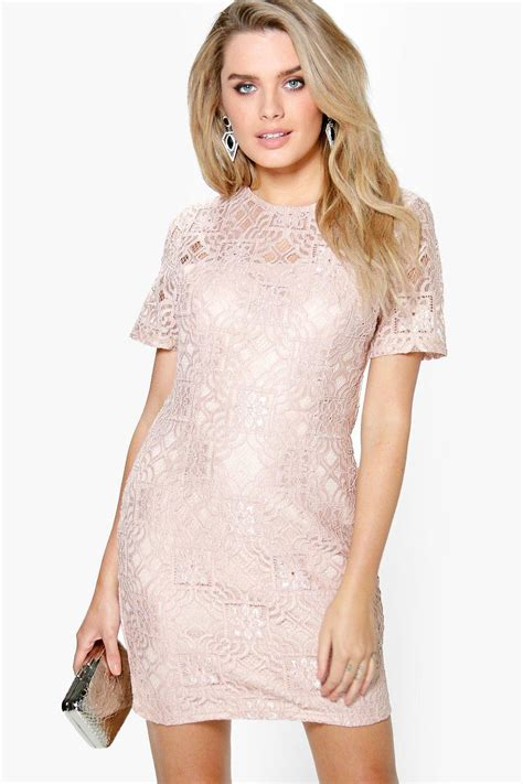 Shift Dresses by All Lace Shift Dress At Boohoo