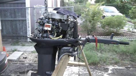 repairing  yamaha hp  stroke outboard motor youtube