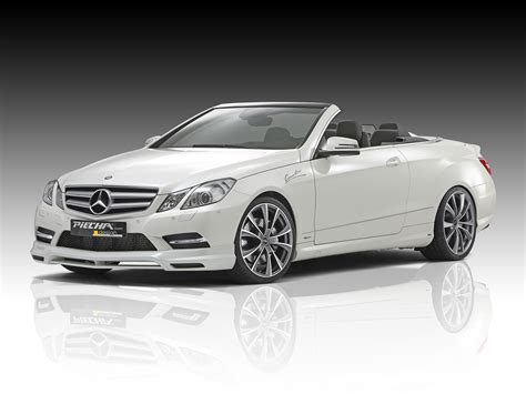 mercedes convertible piecha design releases tuning kit for mercedes benz e