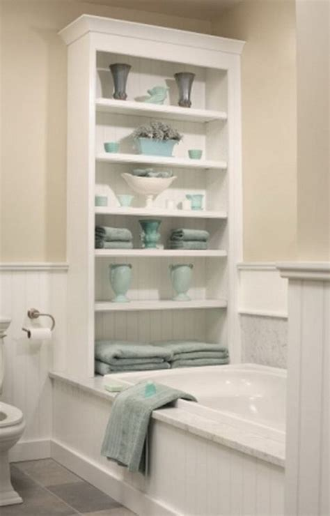 shelf over bathtub 20 neat and functional bathtub surround storage ideas 2017