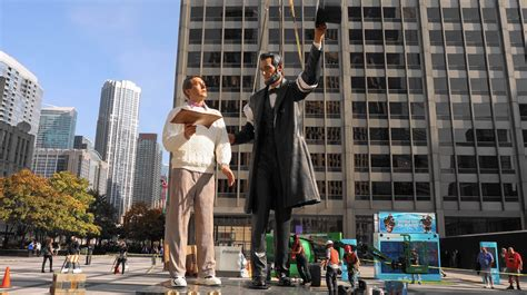 from lincoln to chicago honest abe makes stop in chicago in time for presidential