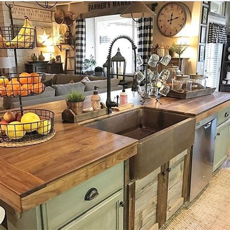 rustic farmhouse kitchen ideas home decor decor steals vintage decor vintage home