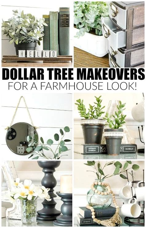 dollar tree home decor how to easily get the farmhouse look with dollar tree