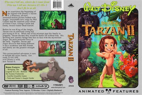 snap 2005 ii movie tarzan ii movie dvd custom covers 475tarzan 2 dvd