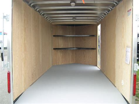 carmate 7 x 16 v nose enclosed cargo trailer 6 added