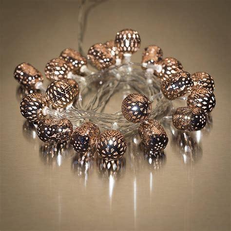 Maroq Light Chain Copper By Spotted Notonthehighstreet Com Maroq Lights