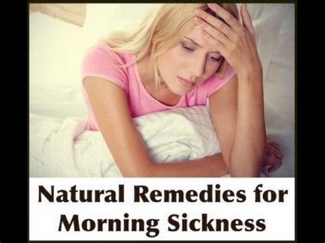 7 Home Remedies For Nausea by 7 Remedies For Morning Sickness You Can Try At