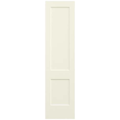 Jeld Wen 24 In X Jeld Wen 24 In X 96 In Vanilla Painted Smooth Solid Molded Composite Mdf Interior