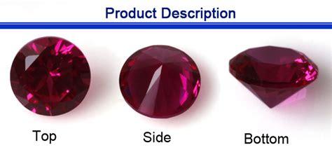 1 4mm made polished ruby gemstone buy