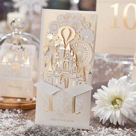 Unique Castle Wedding Invitations by Best 25 Fairytale Wedding Invitations Ideas On